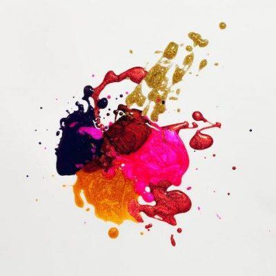 plash of colorful paint