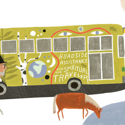 Rami Bus Illustration
