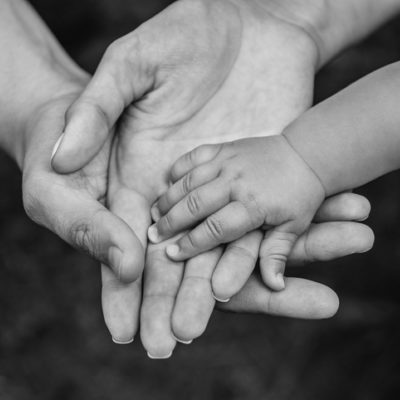 Hands across generations living with intention through the art of dying
