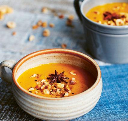 Nourish Soups Roasted Carrot With Hazelnuts Photocredit Luke Albert