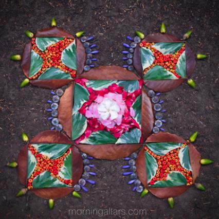 Morning Altars By Artist Day Schildkret Spirituality