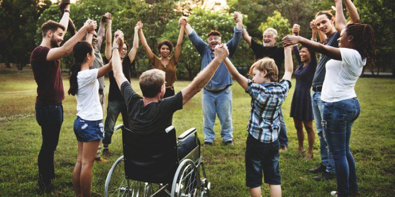 integrated group celebrates diversity
