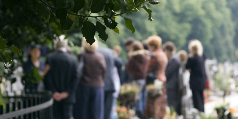 Family gathered at a wedding or funeral.
