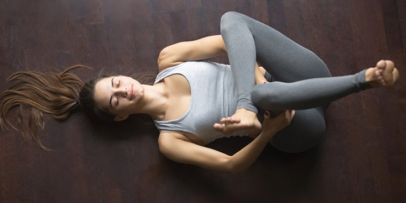 Yoga pose to ease sciatica