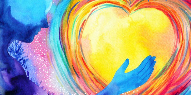 Open heart symbolism