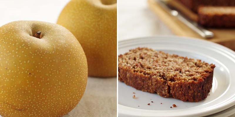 Chai Spiced Pear Bread: Good Food, Spirituality & Health