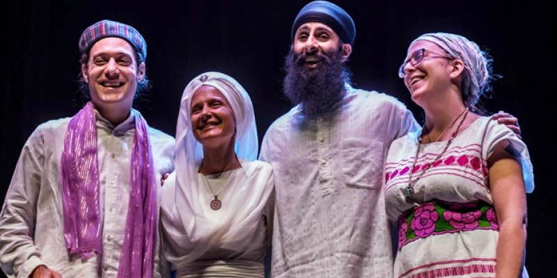 Snatam Kaur and band in Brussels