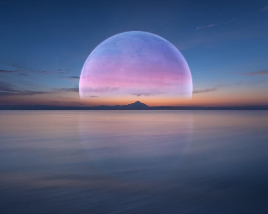 Full Pink Moon