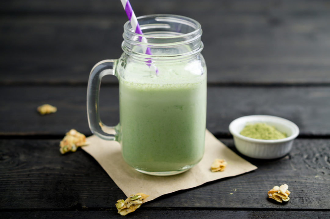 matcha tea smoothie