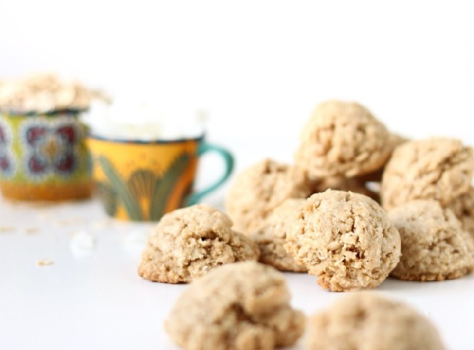 Coconut Oatmeal Whole Wheat Cookies: Good Food, Spirituality & Health