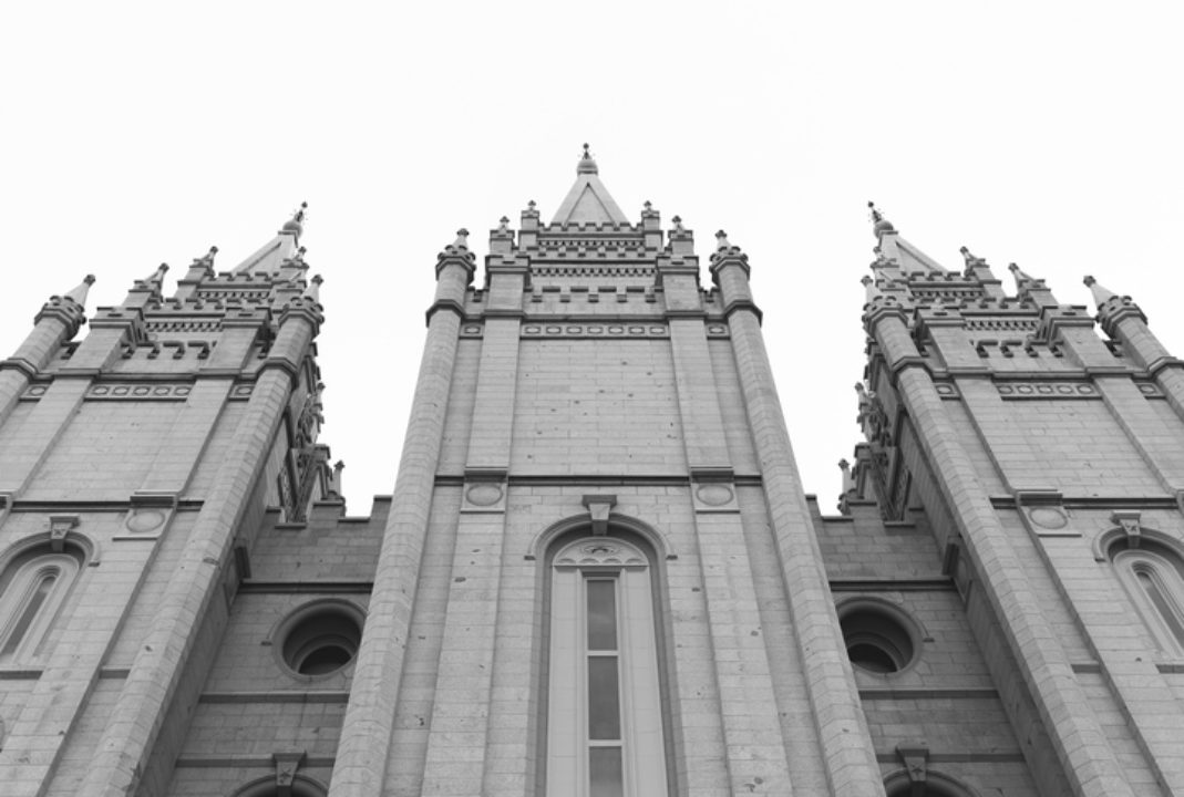 Mormon Temple Salt Lake
