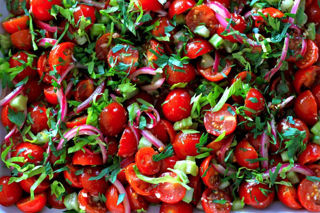Bloody Mary Salad: Good Food, Spirituality & Health