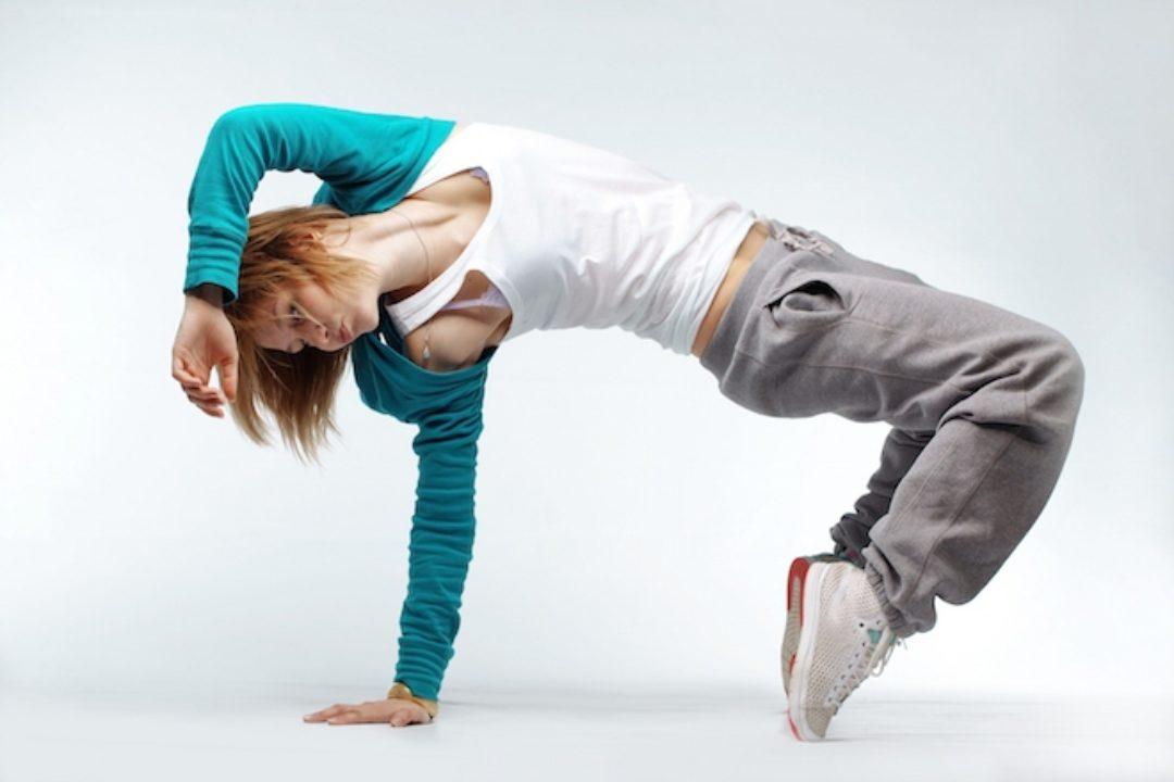 woman doing dance move