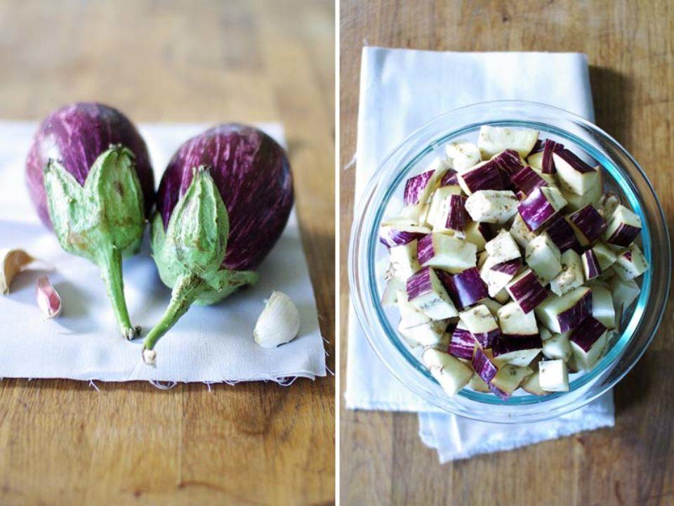 Eggplant & Roasted Red Pepper Pasta: Good Food, Spirituality & Health