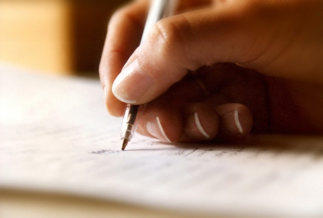 Write a Handwritten Letter to a Friend