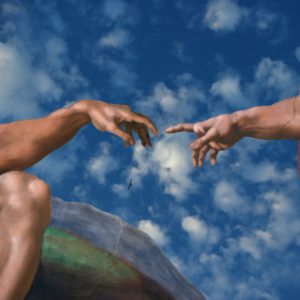The Creation of Adam, painting.