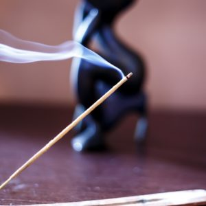 Incense burning