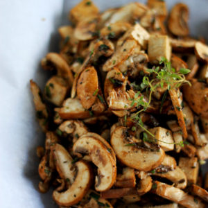 Tofu and Wild Mushroom en Papillote: Good Food, Spirituality & Health
