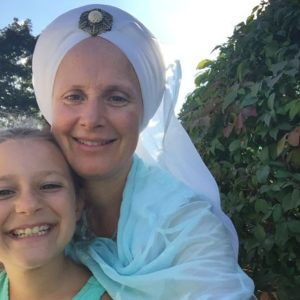Snatam Kaur and child
