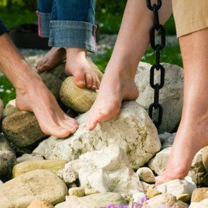 Grounded Feet