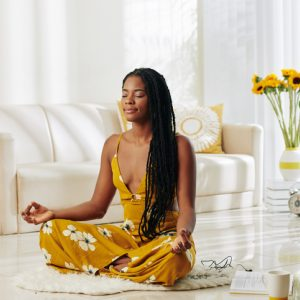woman meditation guided meditation for illness or injury healing