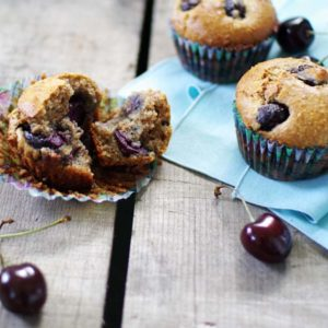 Cherry Almond Meal Muffins: Good Food, Spirituality & Health