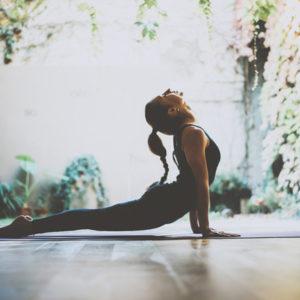 woman yoga