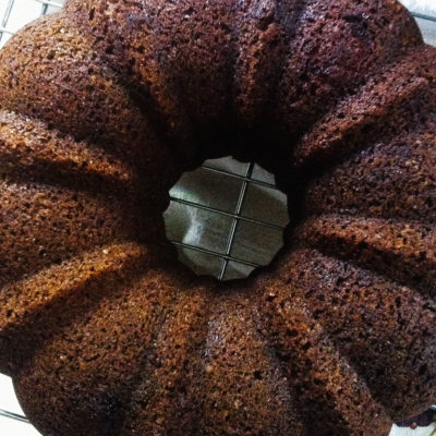 Maple-Sweetened Apple Cake