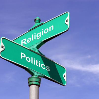 The crossroads of religion and politics