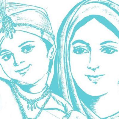 Guru Gobind Singh and mother