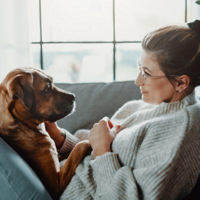 woman and her dog spirituality and dogs
