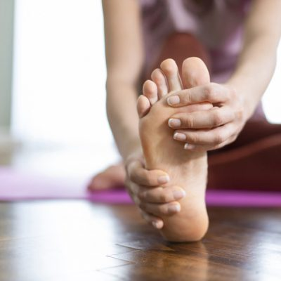 Spiritual meaning of foot pain