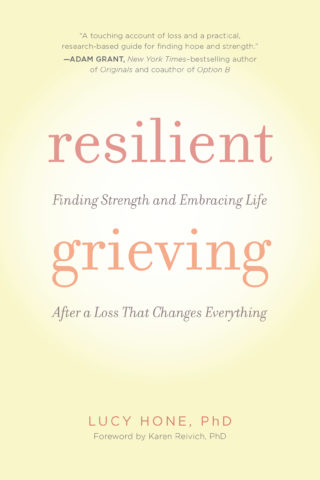 Resilient Grieving book cover