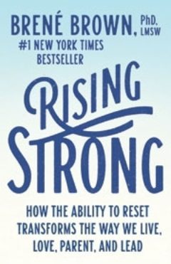 Rising Strong book cover.