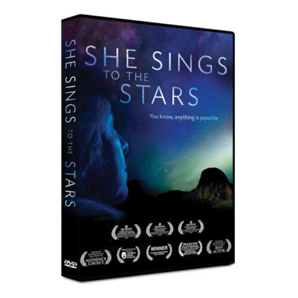 She Sings to the Stars - book cover