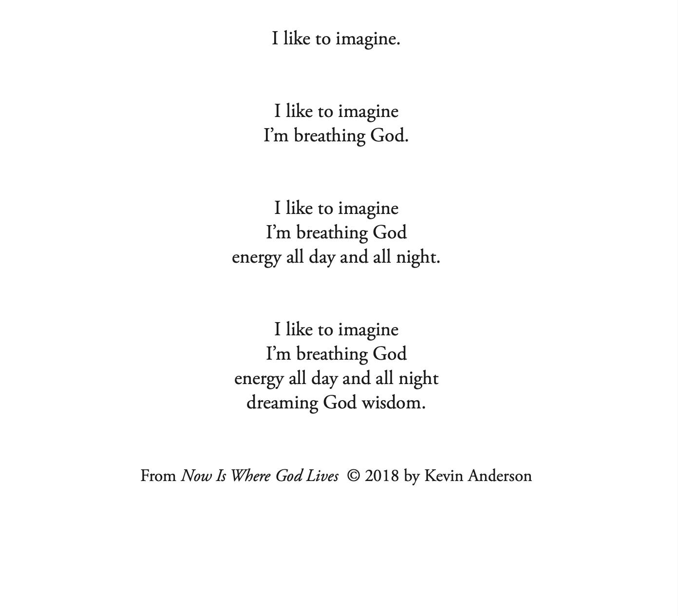 I Like to Imagine nested meditation