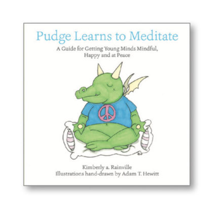Pudge Learns to Meditate - book cover