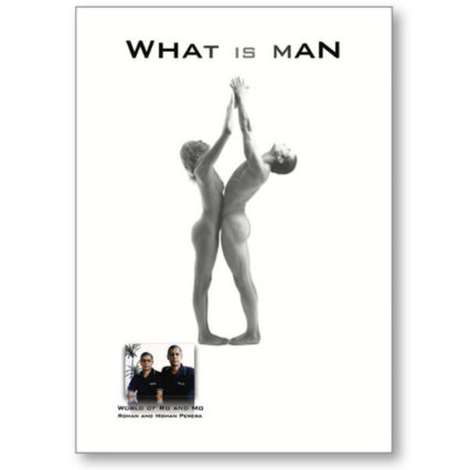 What Is Man - book cover