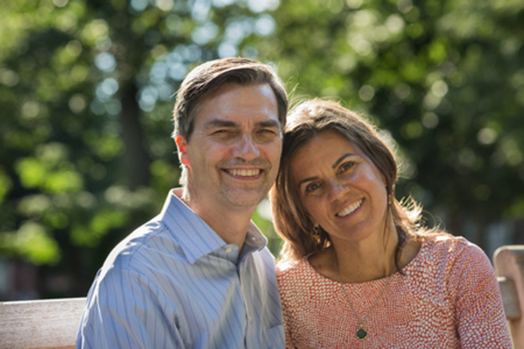 Suzann and James Pawelski