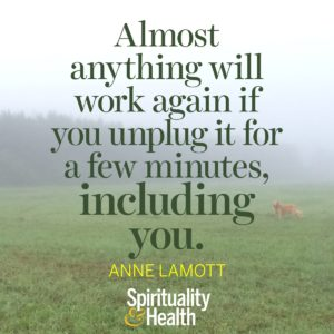 <p>Almost anything will work again if you unplug it for a few minutes, including you.</p>