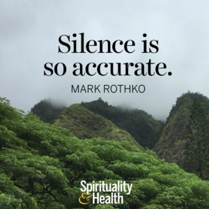 <p>Silence is so accurate. - Mark Rothko</p>