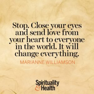 Stop Close Your Eyes and Send Love From Your Heart to Everyone in The World It Will Change Everything