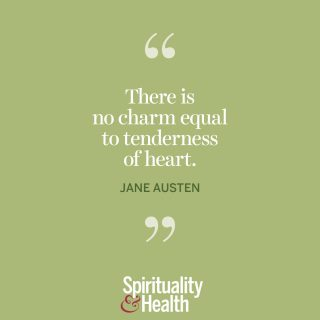 """Jane Austen on charm. - """"There is no charm equal to tenderness of heart."""""""