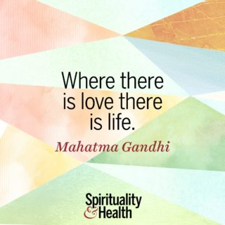 Gandhi on Love - Where there is love there is life