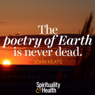 John Keats on Mother Nature's beauty - The poetry of Earth is never dead