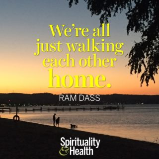 Ram Dass on companionship and destiny - Were all just walking each other home