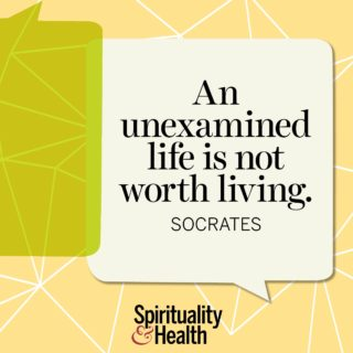 Socrates on life - An unexamined life is not worth living
