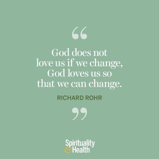 Richard Rohr on God's love.