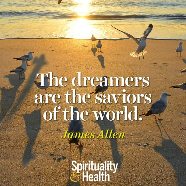 James Allen on inspiring the next generation of dreamers