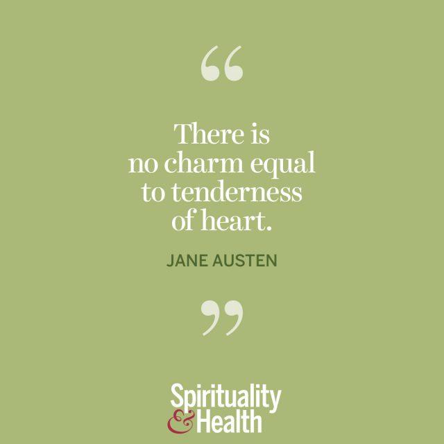 Jane Austen on charm.